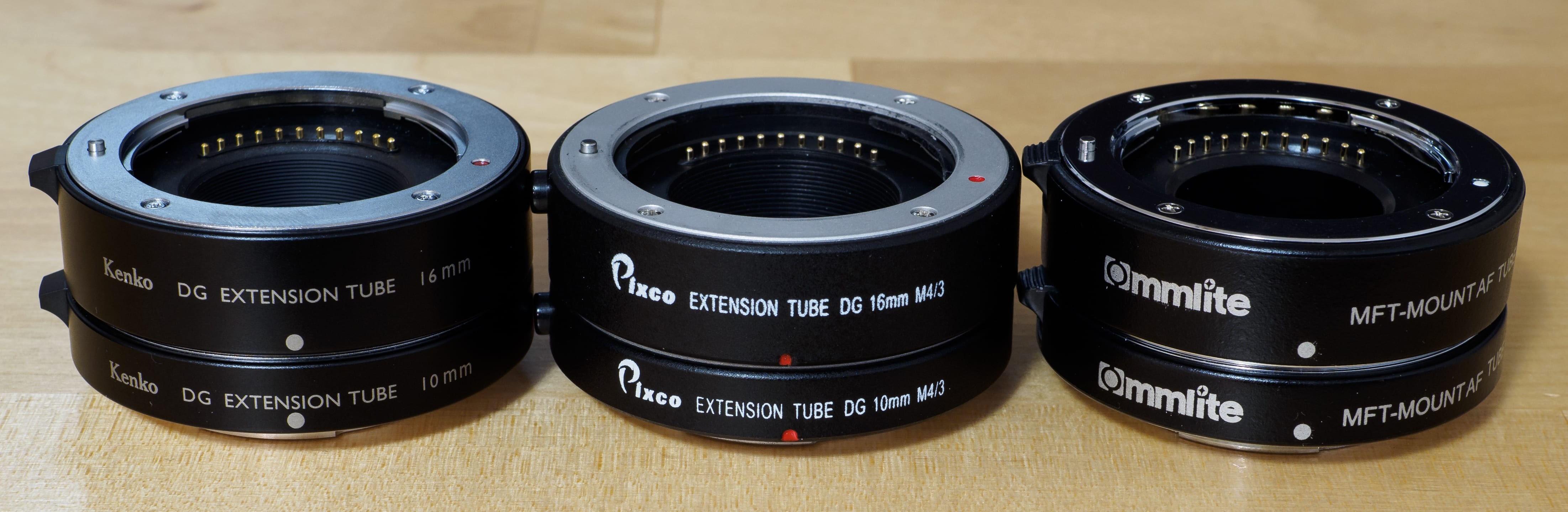 Macro extension tubes (description)