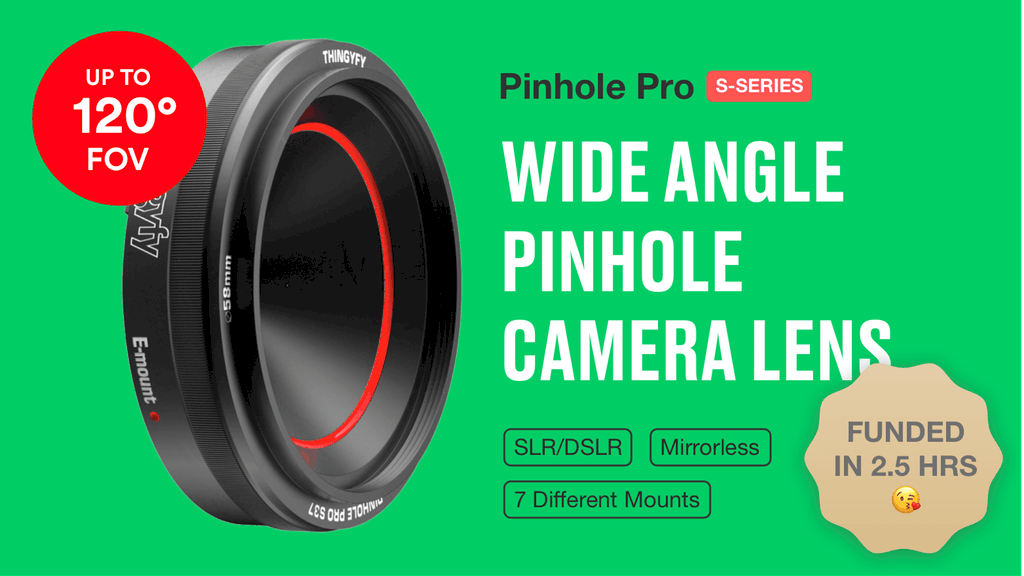 Pinhole Pro and Pro S