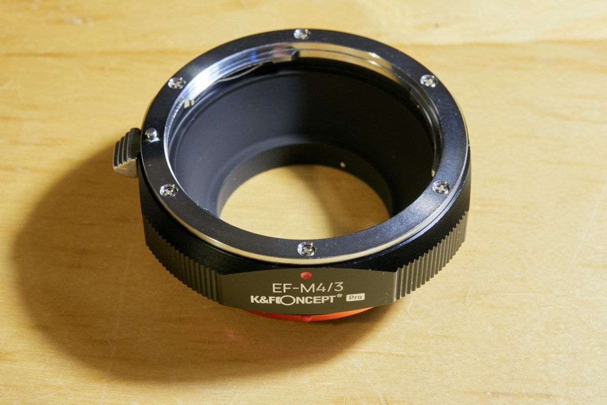 Lens adapters: flange-to-flange distance